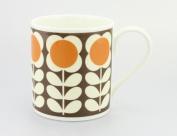 Orla Kiely Mug Poppy stem orange