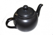 London Pottery 6 Cup filter Teapot Black