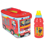 Fireman Sam Lunch Bag and Sport Bottle Set