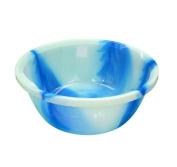 Blue Thai Dye Design 35cm Circular Round Plastic Washing Up Bowl Basin Kitchen