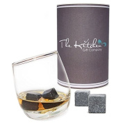 Rocking Whiskey Glass & Whiskey Stones Set - Whisky Gift Set