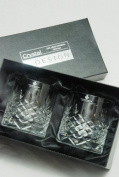 Buckingham Crystal Whisky Glasses - Pair