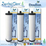 3 Pack - Doulton Supercarb M15 Water filter Cartridges