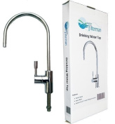 Drinking Water filter Tap, Chrome Swan Neck Modern European Style. Fits all Water filter Systems & RO