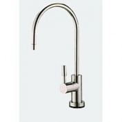 Euro-luxury RO Faucet 0.6cm - Brushed Nickel Finish. Fits all water filter & RO systems.