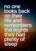 No One Looks Back Inspirational Motivational Quote Poster Print Art Picture - Size A3