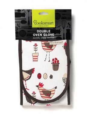 Cooksmart Double Oven Glove, Chicken