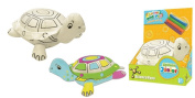 Colour and Pet Washable soft toy Turtle