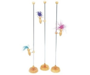 Traditional Toys : Pecking Woodpecker Bird On A Stick
