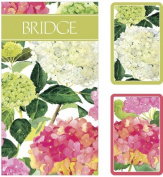 Bridgeset-Endless Summer Bridge Playing cards with scoring pads and pencils US