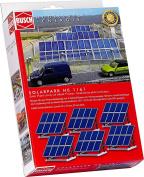Solarpark. 6 Solar panels on frames