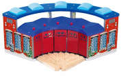 Toys For Play Deluxe Round House with 5-Way Track
