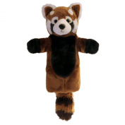 The Puppet Company - Long Sleeves - Red Panda Hand Puppet