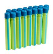 BOOM Co darts 16pck neon/blue