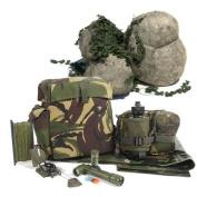 Kids Army Outdoor Adventure Kit - Camouflage Den Kit