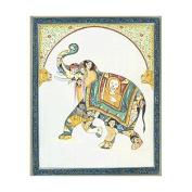 Pashu Kunjar - Composite Elephant - Watercolour On Paper