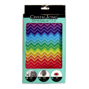 "Crystal Icing ""Colour Love"" Design Wraps Accent Sticker Kit"