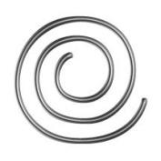 LCI Spiral Paper Clips Silver