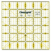 Omnigrid Ruler 15cm x 15cm with Angles