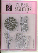 Be Happy - Thoughts of You - Studio G Stamp Set