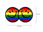 Smile Face Rainbow Logo