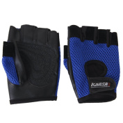 Half Finger Sport Gloves w hook and loop Strap for Bicycle/Roller-Skating/Volleyball/Motorbike