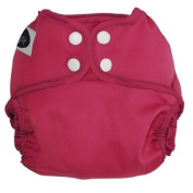 Imagine Baby Products All-In-Two Shell Snap Nappy Cover, Raspberry