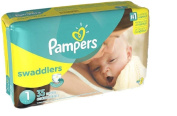 Pampers Swaddlers Nappies Size 1 35 Ct
