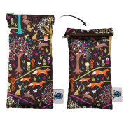 Planet Wise Wipe Pouch, Jewel Woods