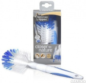 Tommee Tippee Closer to Nature Baby Bottle and Teat Cleaning Brush New - Blue