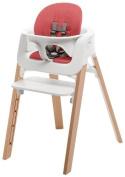 Stokke Steps Children's Highchair - Red