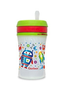 1 Gerber Graduates Nuk Advance Insulated Arctic Wrap EasyStraw Sippy Cup BOY