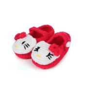 Elee Baby Infant Handmade Cartoon Animal Baby Crochet Knitted Prewalker Boots Toddler Socks for Newborn Girl Boy (0-6 months)
