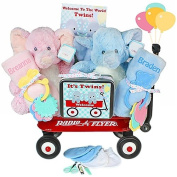 Twins Welcome Waggon Gift Basket