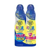 Banana Boat Kids Clear Ultra Mist SunScreen SPF 50 Twin Pack
