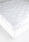 Suvelle Mattress Pad Cover Protector For Portable / Mini Baby Crib , 100% Waterproof Without Sweating Vinyl Free, Superior Quality And Protection In The Most Comfortable Way, Cotton Fitted Sheet Style, Breathable Quilted Top Protects From Dust, Germs, ..