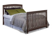 Imagio Baby Midtown Full Size Conversion Bed Rails, Chocolate Mist