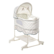 NEW Baby Infant Cali Design Smart Soother Music Technology Bassinet Cradle Crib