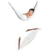 Elee Baby Swing Canoe Hammock Bed Infant Knit Crochet Photography Prop Costume