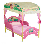 Classic Delta Childrens Dora the Explorer Canopy with Toddler Bed
