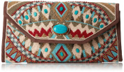 Mary Frances Turquoise Power Beads Clutch