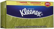 Kleenex Facial Tissue, White, Flat Box, 160 Sheets