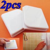 2x Anti Splash Spill Bathroom Bath Shower Curtain Stop Clips