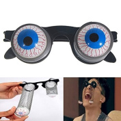 Great Value Halloween Scary Horror Shock Pop Eyes Eyeball-Dropping Glasses