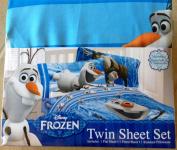 Disney Frozen Olaf Twin Sheet Set