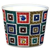 Old Kutani 7.9cm Sake cup White porcelain Made in Japan