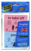 Flashsticks English Intermediate Starter Pack