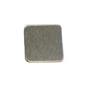 RMP Stamping Blanks, 2.5cm Square W /Rounded Corners, Aluminium .80cm