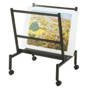 Heritage Arts PHR50-BK Small 70cm Wide Poster & Print Rack