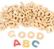 Rimobul Craft Wooden Letters - Set of 104